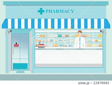 drug store2のイラスト素材 [22876683] - PIXTA