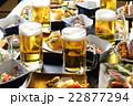 居酒屋 ビール 生ビールの写真 22877294