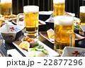 居酒屋 ビール 生ビールの写真 22877296