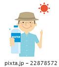 熱中症 水分 水分補給のイラスト 22878572