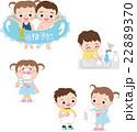 子供の夏風邪予防 22889370