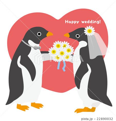 アデリーペンギン ウエディング 22890032