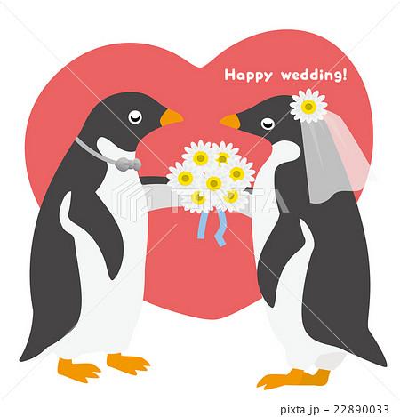 アデリーペンギン ウエディング 22890033