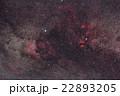 白鳥座の散光星雲 22893205