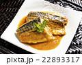 煮魚 味噌煮 鯖の写真 22893317