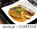 煮魚 味噌煮 鯖の写真 22893318