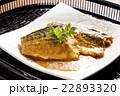 煮魚 味噌煮 鯖の写真 22893320