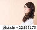 若い女性  22898175