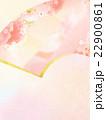 背景 桜 扇のイラスト 22900861