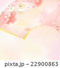 背景 桜 扇のイラスト 22900863