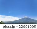 富士山 世界文化遺産 新緑の写真 22901005