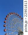 観覧車 遊園地 遊具の写真 22901813