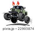 Cartoon Monster Truck 22903874
