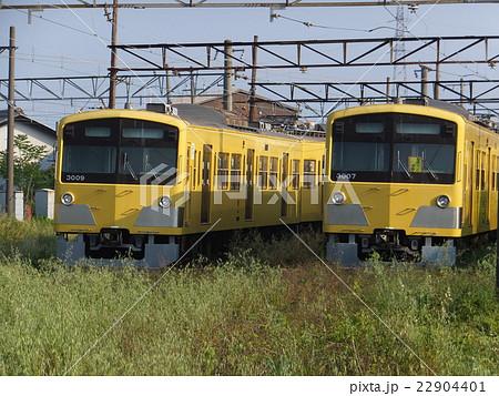 写真素材: 近江鉄道・留置線