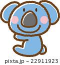 コアラ 動物 素材のイラスト 22911923