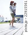 人物 ポートレート 親子の写真 22915561