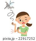 蚊に刺される女性 22917252