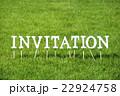 芝生のInvitation(文字ブロック) 22924758