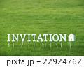 芝生のInvitation(文字ブロック) 22924762
