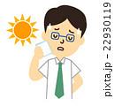 会社員眼鏡熱中症 22930119