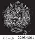 ベクトル 花 花束のイラスト 22934801