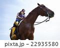 親子 乗馬 22935580