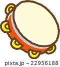 タンバリン(赤) 22936188