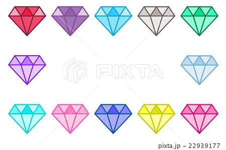 宝石の枠のイラスト素材 22939177 Pixta