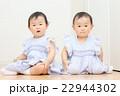 かわいい双子の赤ちゃん 日本人 アジア人 22944302