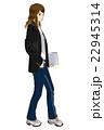ビジネス・ファション ノートPCを持った女性 22945314