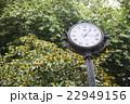 スペインの公園の時計 22949156