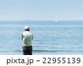 海 男性 シニアの写真 22955139