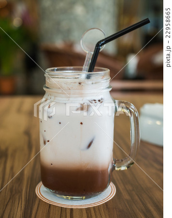 Mug of cold chocolate 22958665