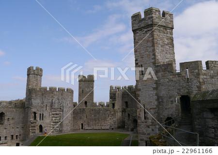 カナーヴォン城の写真素材 [2296...