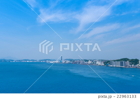 関門海峡一望 22963133