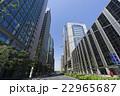 ビル群 大手町 ビジネス街の写真 22965687