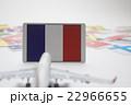 国旗 飛行機 22966655