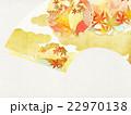 背景 和 扇のイラスト 22970138
