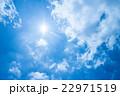 光芒 空 雲の写真 22971519