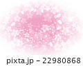 桜 背景 花のイラスト 22980868