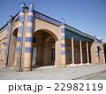 ウズベキスタンの世界遺産ヒヴァのディシャン・カラにあるヌルッラバイ宮殿 22982119