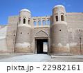 ウズベキスタンの世界遺産ヒヴァのイチャン・カラにあるタシュ・ダルヴァザ(南門) 22982161