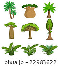 樹木 樹 ツリーのイラスト 22983622