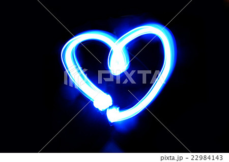HEART ハート ペンライトアート 22984143