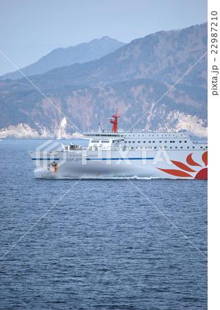 海を渡る船(大洗から苫小牧) 22987210