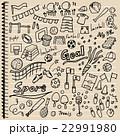 スポーツ 落書き ノート 22991980