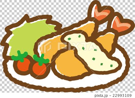 炸虾 西餐 食物 22993109