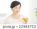 女性 ミドル 笑顔の写真 22993752