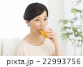 女性 ミドル お茶の写真 22993756