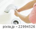 小学生 洗面所 洗面台の写真 22994526